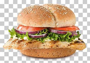 Chicken Sandwich Hamburger Veggie Burger Barbecue Chicken Chicken Patty PNG