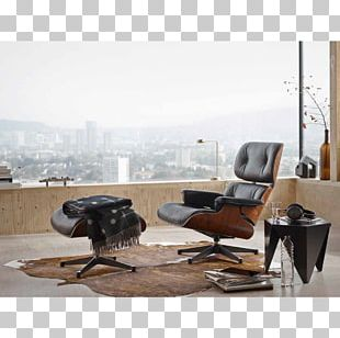 Eames Lounge Chair Vitra Charles And Ray Eames Chaise Longue PNG