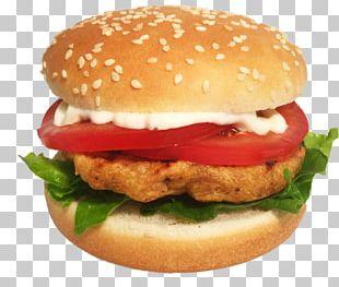 Hamburger Veggie Burger Cheeseburger Fast Food Hot Dog PNG