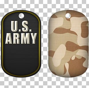Dog Tag Military Branch Army PNG