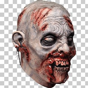 Latex Mask Halloween Costume Revenant PNG