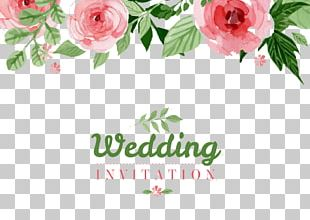 Wedding Invitation Paper Flower PNG