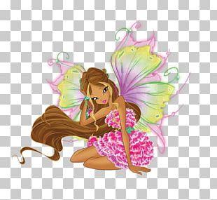 Flora Aisha Musa Fairy Winx Club PNG