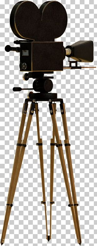 Movie Camera Tripod Video Cameras PNG