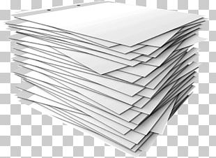 Paper Stack Template PNG