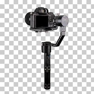 Gimbal Camera Stabilizer Digital SLR Mirrorless Interchangeable-lens Camera PNG