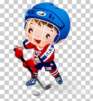 Ice Hockey Child Hockey Stick PNG