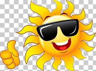 Sunlight Solar Power Smiley PNG