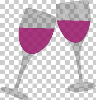 White Wine Champagne Wine Glass PNG