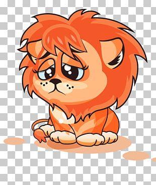 Lion Cartoon Photography Illustration PNG