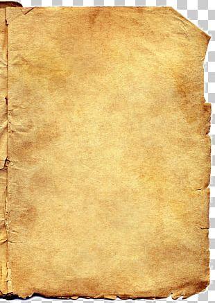 Kraft Paper Scroll PNG