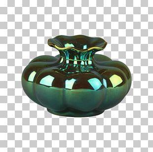 Vase Ceramic Zsolnay Eozin Pottery PNG