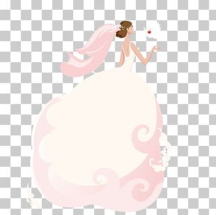 Bride Cartoon Illustration PNG