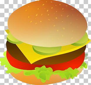 Cheeseburger Hamburger French Fries Fast Food Bacon PNG