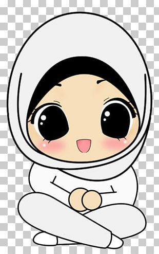 Hijab Muslim Cartoon Drawing Islam PNG