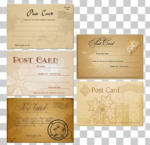 Postcard PNG