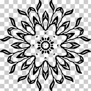 Floral Design Art PNG