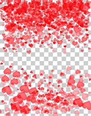 Heart-shaped Material PNG