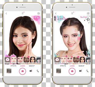 Smartphone Eyebrow Hair Coloring Multimedia PNG