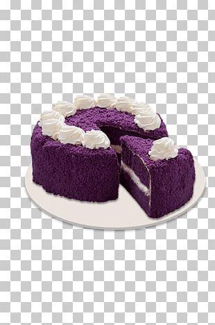 Ube Halaya Red Ribbon Filipino Cuisine Chiffon Cake Swiss Roll PNG