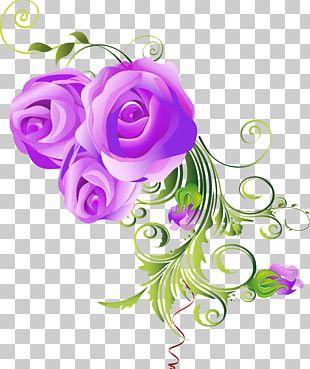 Cut Flowers Ornament Floral Design Art PNG