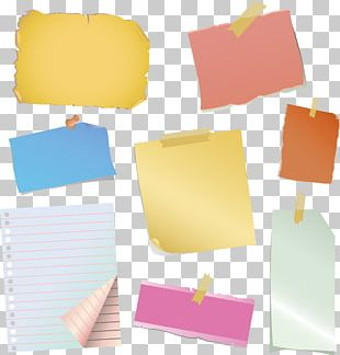 Paper Clip Post-it Note Adhesive Tape PNG
