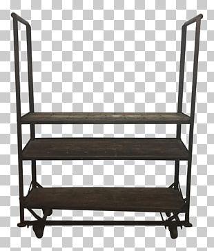 Shelf Chair Garden Furniture PNG