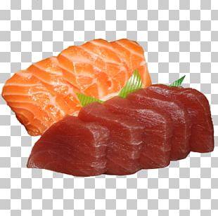 Sashimi Smoked Salmon Crudo Sushi Onigiri PNG