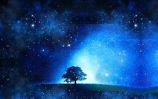 Blue Star Background PNG