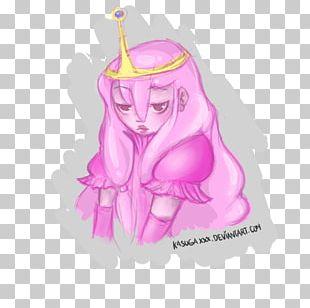 Cartoon Pink M Figurine Legendary Creature PNG