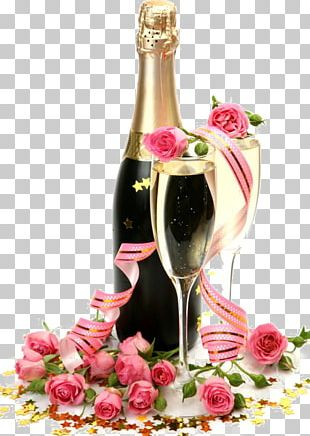 Champagne Glass Rosxe9 Wedding PNG
