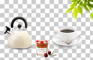 Coffee Breakfast Milk Toast Bread PNG