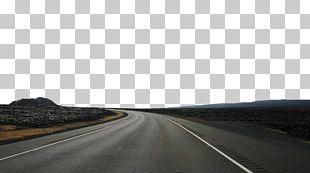 Highway Asphalt Road Surface Road Trip PNG