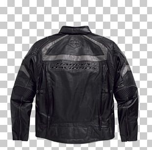 Leather Jacket Harley-Davidson Giubbotto Motorcycle PNG