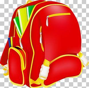 School Bag Illustration PNG