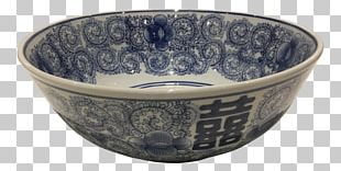 Bowl Blue And White Pottery Ceramic Glass Porcelain PNG