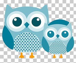 Owl Bird Cartoon Silhouette PNG