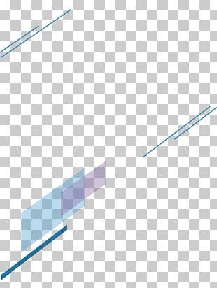 Blue Line Geometry Euclidean PNG
