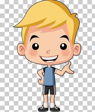 Child Cartoon Man PNG