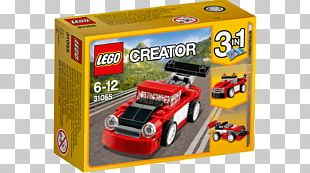 LEGO 31055 Creator Red Racer Toy Lego City LEGO 31054 Creator Blue Express PNG