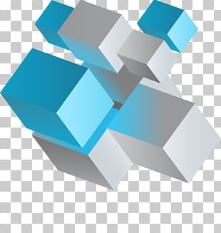 Colorful Cubes PNG