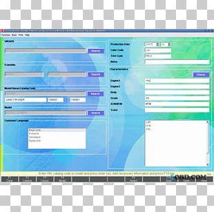 Toyota Car Spare Part Lexus Computer Software PNG