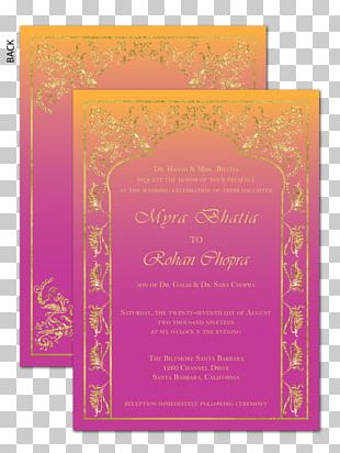 Wedding Invitation Paper Greeting & Note Cards Convite PNG
