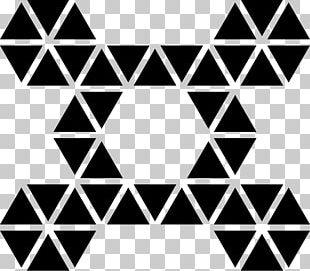 Hexagon Geometry Shape Triangle PNG