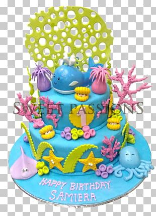 Birthday Cake Fudge Frosting & Icing Cupcake Cream PNG