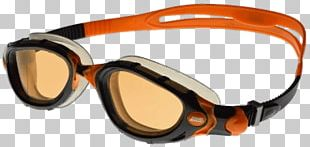 Orange Swimming Goggles PNG