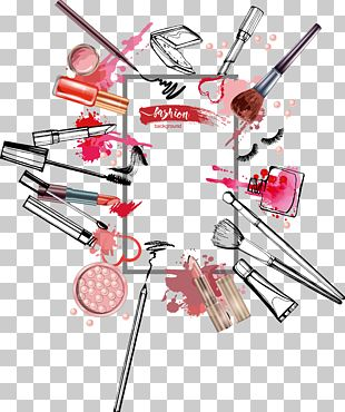 Cosmetics Rouge Lipstick Illustration PNG