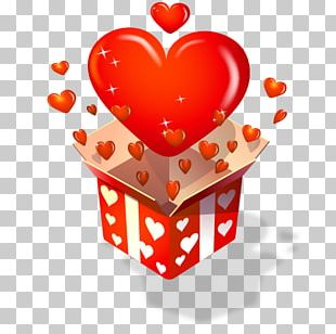 Gift Valentine's Day Love Sticker PNG