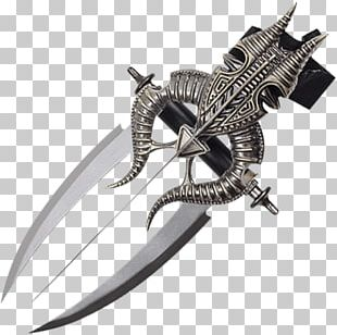 Knife Blade Dagger Scabbard Wrist PNG