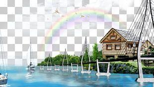 Poster Landscape Sky Euclidean PNG